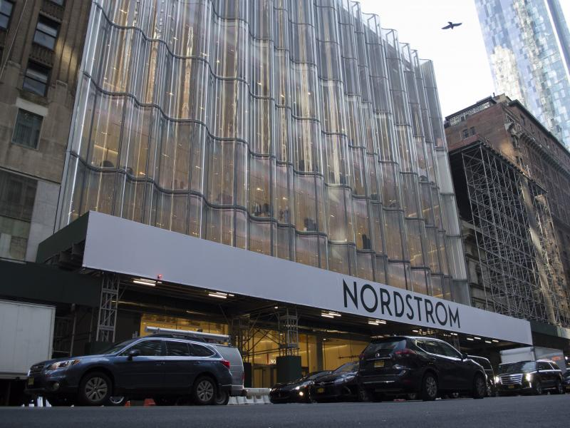 Nordstrom's new flagship store opens Thursday on 57th Street and Broadway in New York City. The store has seven floors of products and services alongside in-store restaurants and bars.