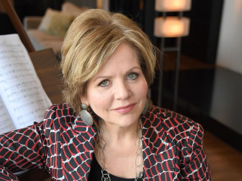 Opera singer Renee Fleming in her apartment in New York City on Nov. 2, 2016.