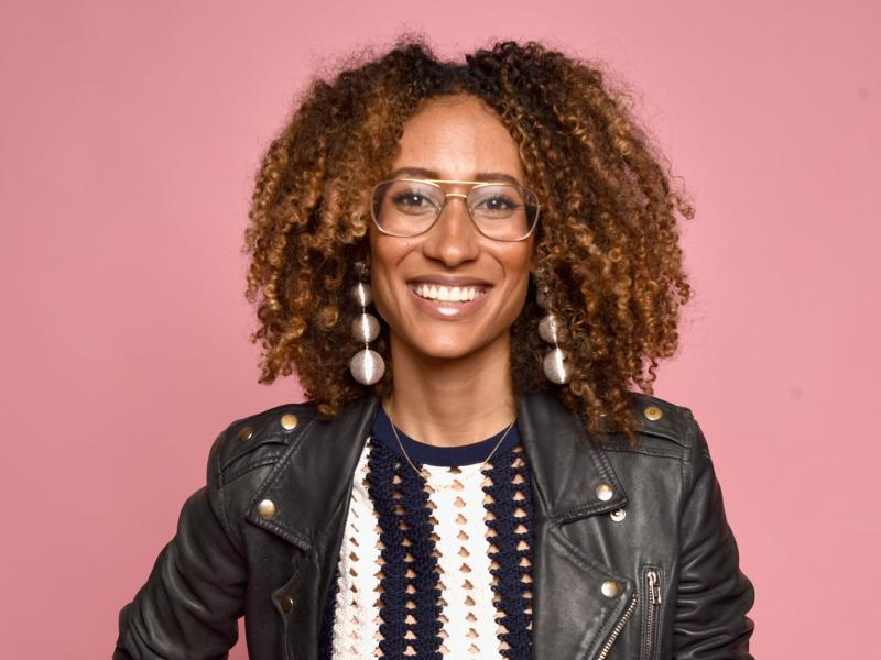 Teen Vogue editor in chief Elaine Welteroth attends the Beautycon Festival in New York City in May 2017.