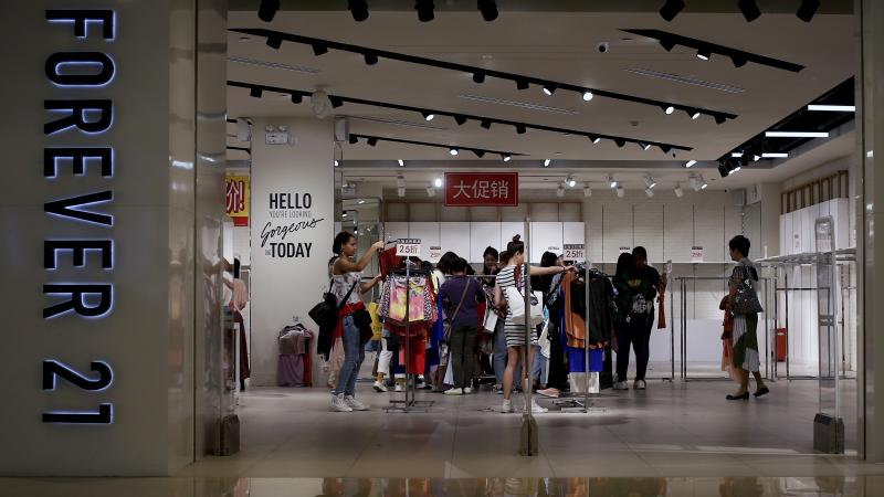 Forever 21, an early player in the fast-fashion movement, filed for Chapter 11 bankruptcy protection.