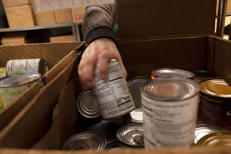 Even with visits to the local food pantry, many families struggle to get enough to eat. Food banks say rethinking our donations could help them stretch their money.