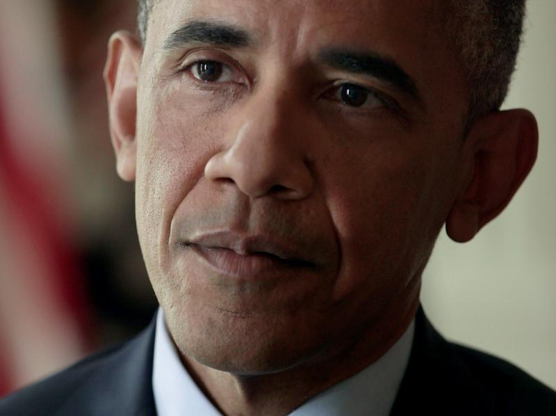 President Obama is interviewed by NPR's Steve Inskeep at the White House on Monday.