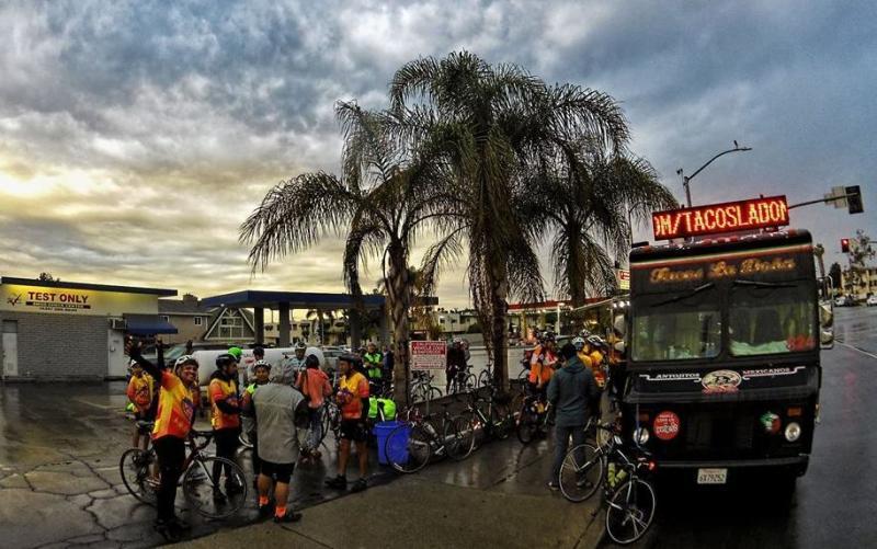 On A 'Tour De Tacos' With Los Angeles' Eastside Bike Club