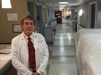 Ideally, the best place to care for someone ill with Ebola is at the end of a hall in a room with its own bathroom, anteroom and entrance, says Dr. Jack Ross of Hartford Hospital.