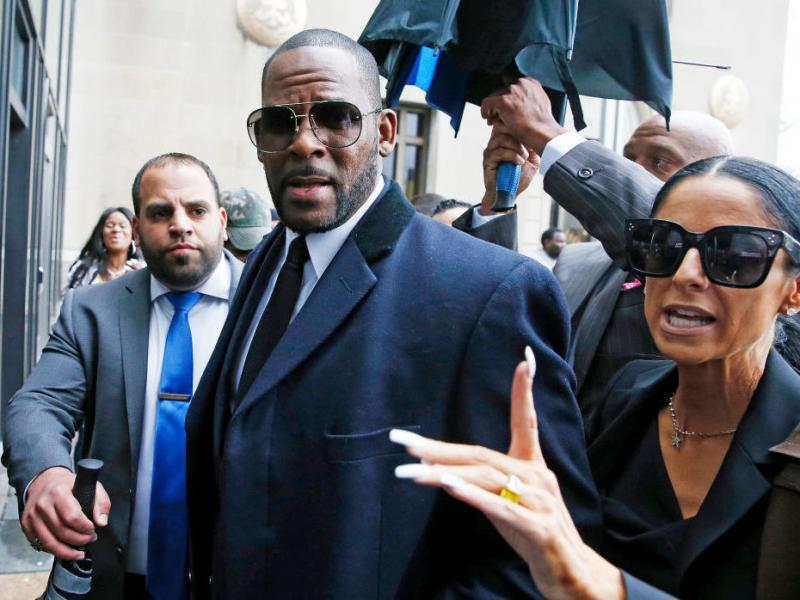 R. Kelly, arriving for a court hearing in Chicago in May 2019.