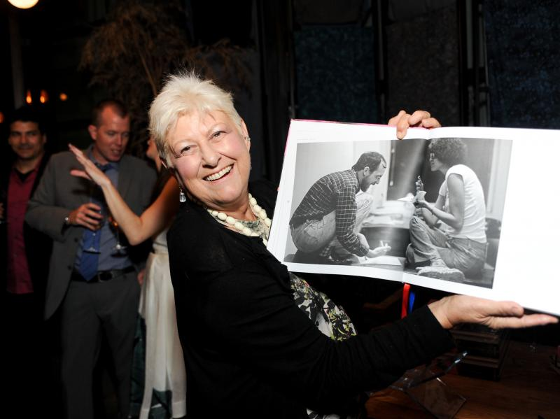 Anne Beatts attends the Live From New York! documentary's Los Angeles premiere after-party on June 10, 2015.