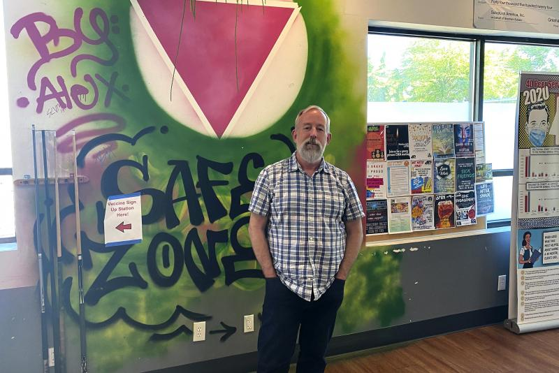 """Mike Marshall is the co-founder and director of Oregon Recovers. He says he's concerned the state is failing to expand addiction treatment capacity in a strategic way. """"So we put the cart before the horse,"""" he says."""