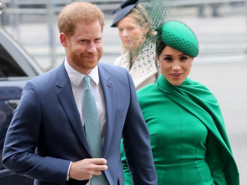 Prince Harry and Meghan Markle, seen here in last March, have announced they are expecting a second child.