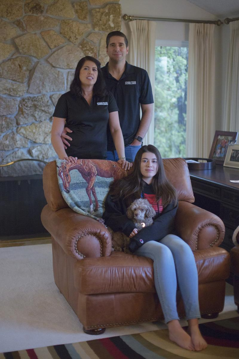 One year after their older daughter, Carmen, was killed in the shooting at Marjory Stoneman Douglas High School in Parkland, Fla., the Schentrup family works to find a new normal. While son Robert remained in Florida to attend college, the rest of the fam