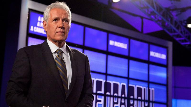 Alex Trebek, the host of Jeopardy!