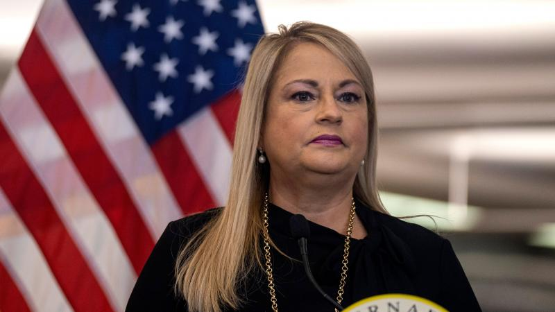 Puerto Rico Gov. Wanda Vázquez, pictured in June, admitted defeat in a primary election Sunday.