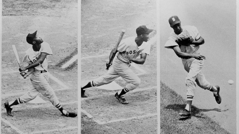 "Elijah ""Pumpsie"" Green was the first black player in Boston Red Sox history."