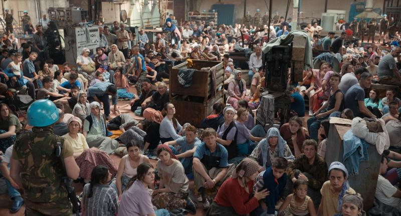 Quo Vadis, Aida? dramatizes the genocide of more than 8,000 Bosnian Muslim men and boys in Srebrenica in July 1995. It is nominated for the Academy Award for Best International Feature Film.