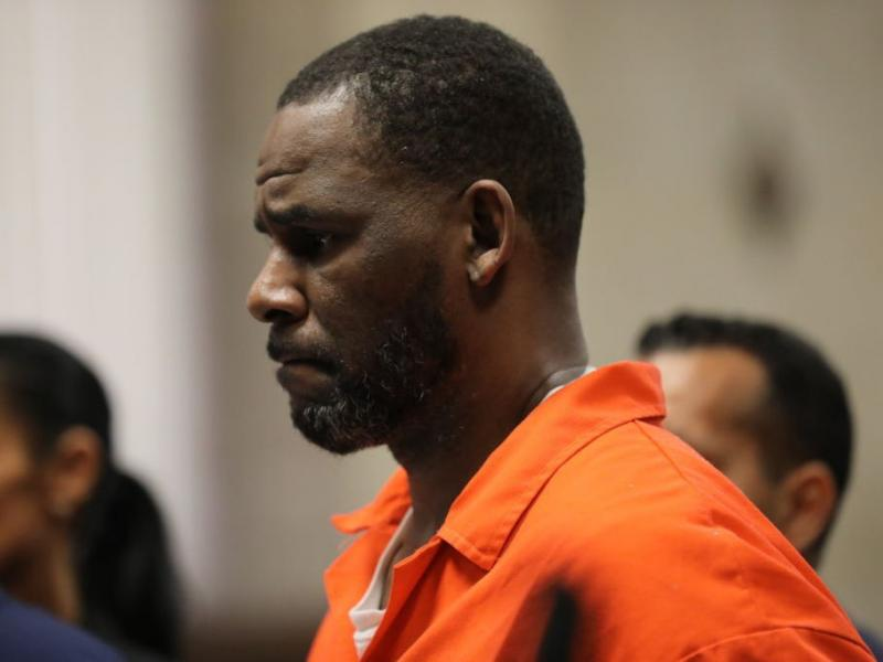 R. Kelly attends a hearing at the Leighton Criminal Courthouse in Chicago in September 2019.