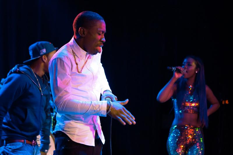 2 Milly does his signature dance, the Milly Rock, while performing at The Roxy Theatre in Los Angeles in 2015.