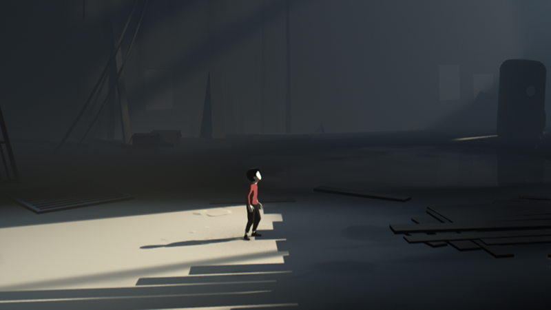 In Inside, you play as a boy with no special powers — just the ability to run from the monsters around you.