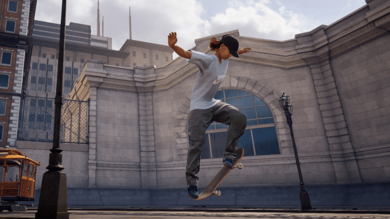 Japanese Olympian Aori Nishimura is one of the new playable characters in Pro Skater 1+2.