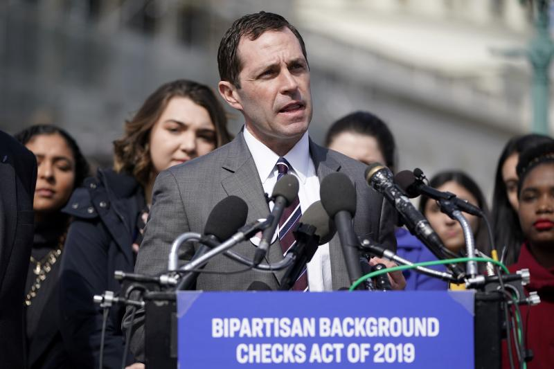 Rep. Gabby Giffords Joins Democrat Lawmakers To Discuss Gun Background Checks Legislation