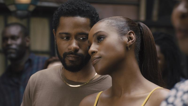 Michael (LaKeith Stanfield) and Mae (Issa Rae) look picture-perfect in The Photograph.
