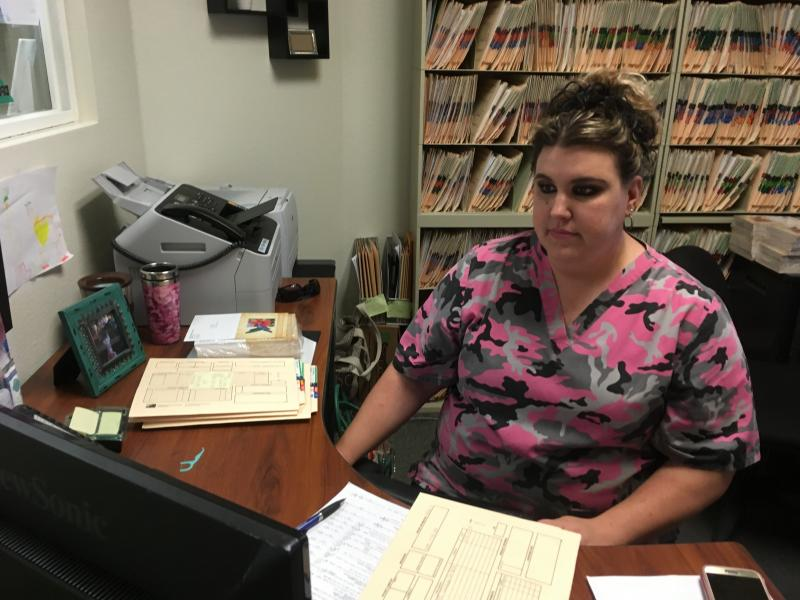 Tessa Anklin says Covered California health plans are too expensive for her family.