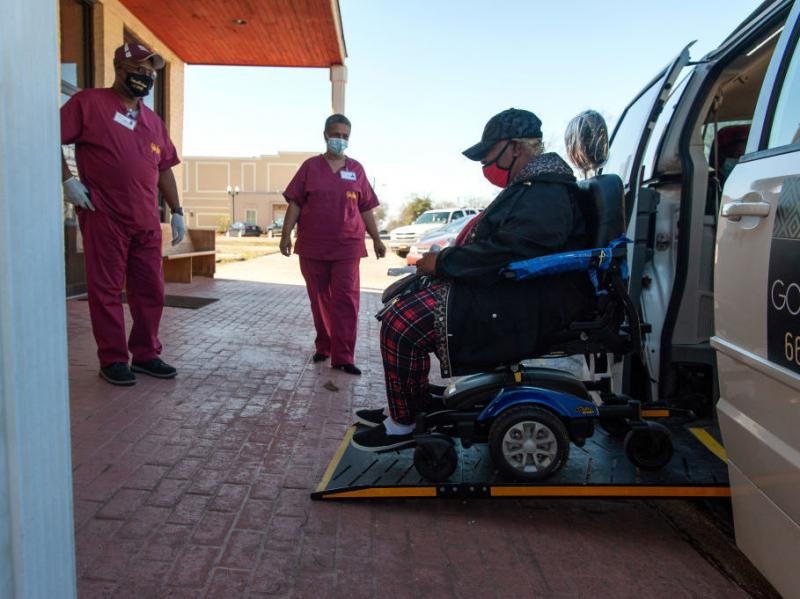 Poverty and disability are linked to lower vaccination rates in some rural communities. The Vaccination Transportation Initiative sponsored van helps rural residents get the COVID-19 vaccine in rural Mississippi. The effort works to overcome the lack of t
