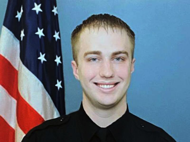 """Officer Rusten Sheskey """"was found to have been acting within policy and will not be subjected to discipline,"""" the Kenosha, Wis., police chief said, following a review of the shooting of Jacob Blake."""