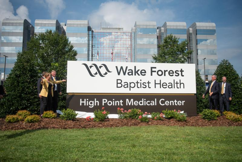 High Point Regional Health Joins Wake Forest Baptist's