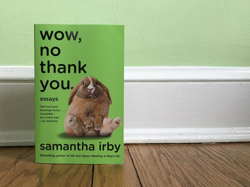 Wow, No Thank You, by Samantha Irby