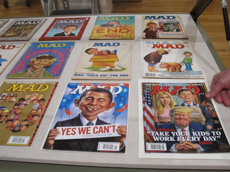 A 2018 exhibit at the Billy Ireland Cartoon Library & Museum at Ohio State University celebrated the artistic legacy of MAD magazine.