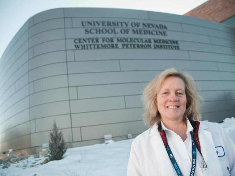 In 2011, Judy Mikovits was fired from the Whittemore Peterson Institute for Neuro-Immune Disease, in Reno, Nev. She was then accused of stealing notebooks and a computer.