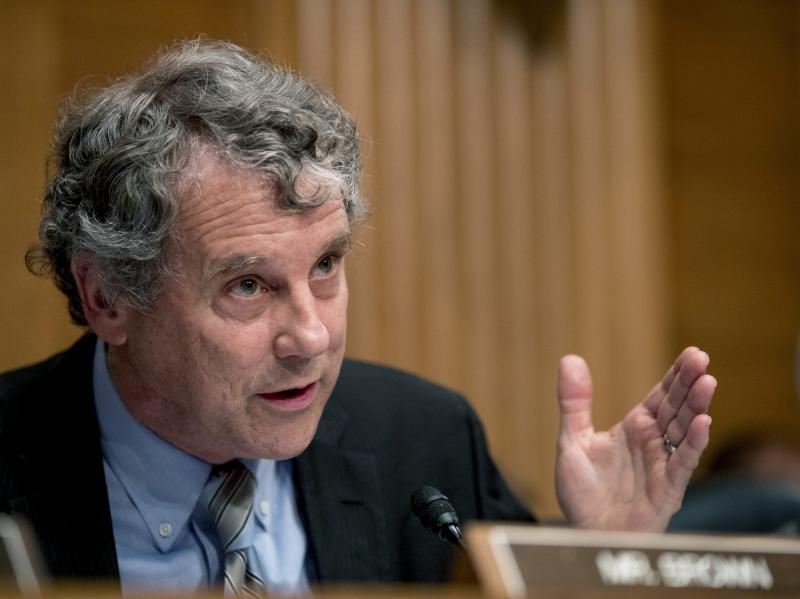 Sen. Sherrod Brown, D-Ohio, wants answers from one of the largest owners of single family rental homes in the U.S. A report from an advocacy group finds that the company has been filing evictions at more than four times the rate in predominantly Black cou