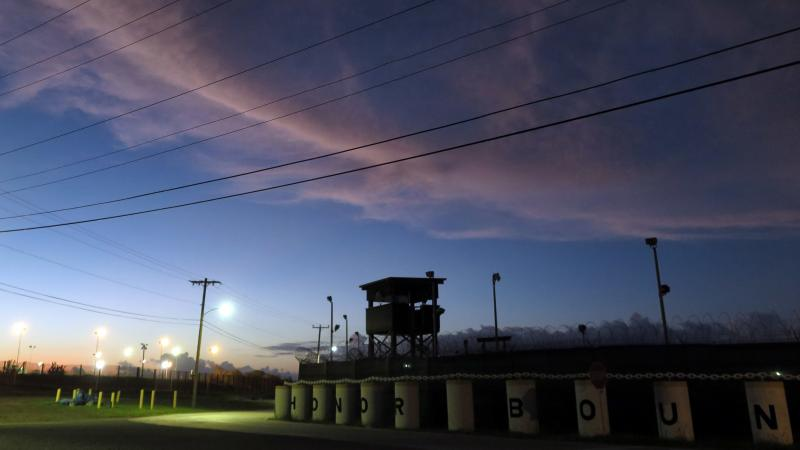 """In a letter to the White House, 24 senators said the U.S. military prison at Guantánamo Bay, Cuba """"has damaged America's reputation, fueled anti-Muslim bigotry, and weakened the United States' ability to counter terrorism and fight for human rights and t"""