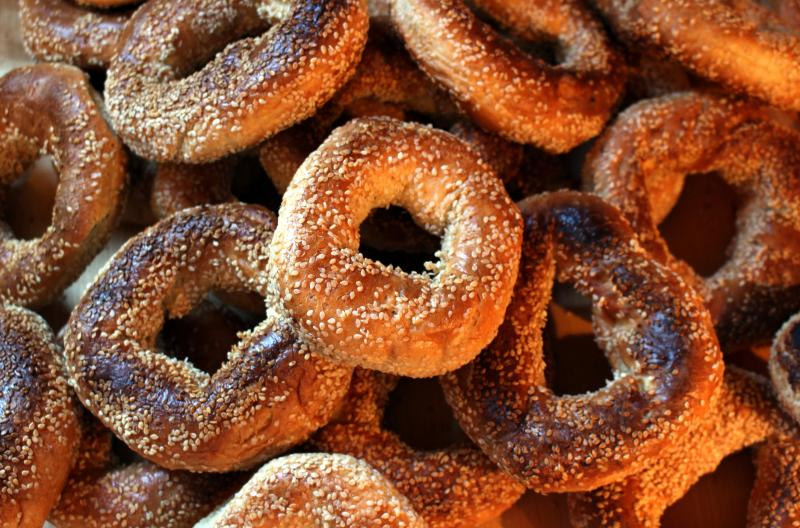 Montreal bagels sprinkled with sesame. New findings suggest allergies to sesame are comparably prevalent as those to some tree nuts. The findings come as the FDA weighs whether to require sesame to be listed as an allergen on food labels.