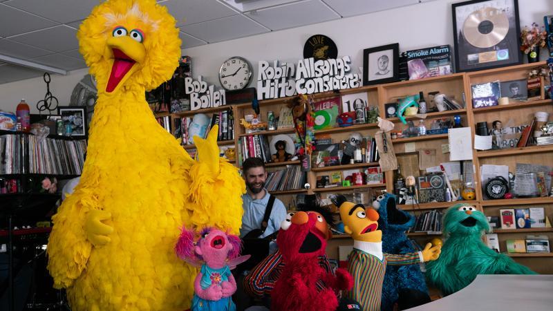 Sesame Street: Tiny Desk Concert | 88 5 WFDD