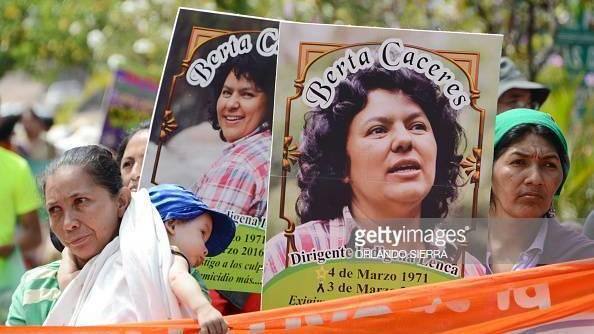Environmental activist Berta Cáceres was assassinated in 2016, after her decade-long campaign against the construction of a dam in Honduras.