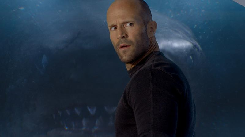"""She Prefers To Be Called """"The Peggy"""": Jonas (Jason Statham, obviously) reflects the audience's incredulity in The Meg."""