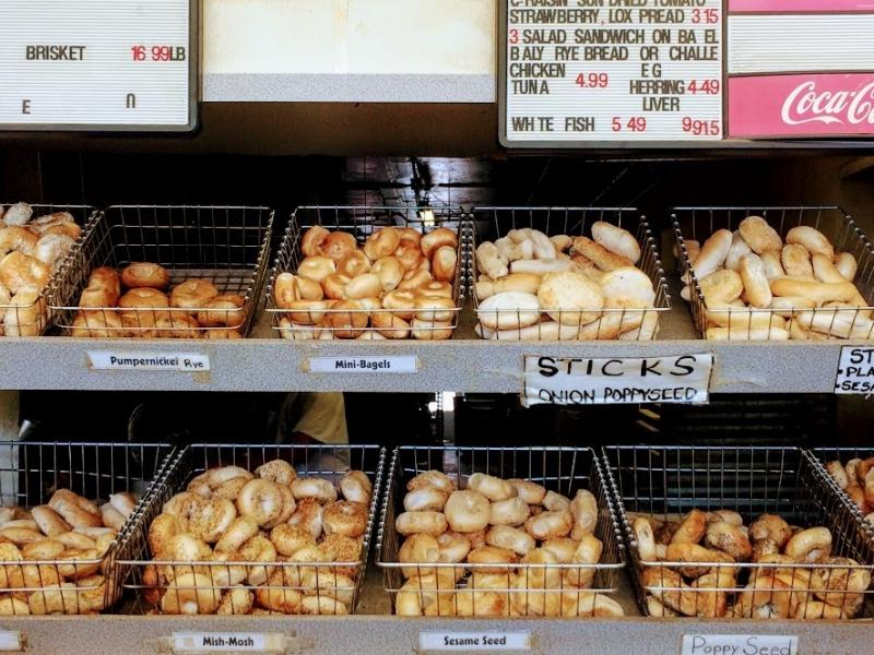 The bagels for sale at Skokie's New York Bagel & Bialy, which opened in the Illinois town in 1962, are as good as any you'd find in the Big Apple. In the post-World War II era, the town became a hub for Jewish Holocaust survivors, and synagogues sprouted