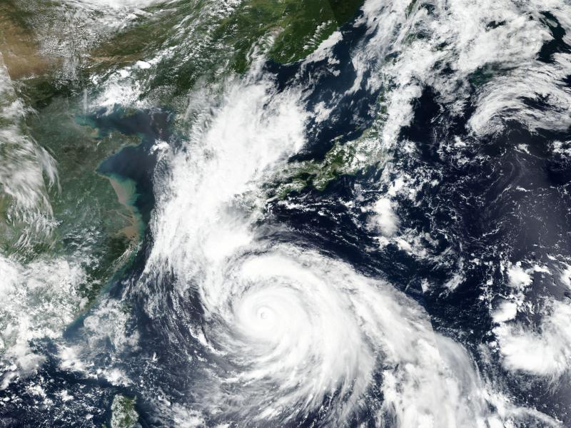 Typhoon Haishen is poised to make landfall in southwestern Japan Sunday, bringing with it heavy rains and lashing winds. Forecasters predict it will then head toward the Korean peninsula.