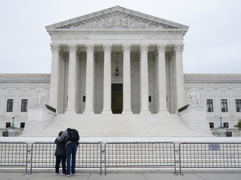 The U.S. Supreme Court in Washington
