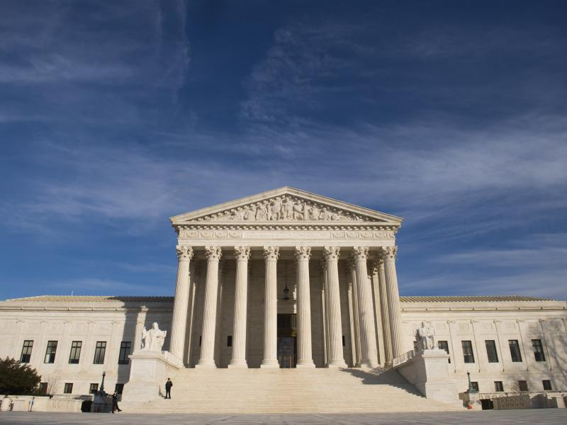 The U.S. Supreme Court's unsigned order came on a 5-4 vote.