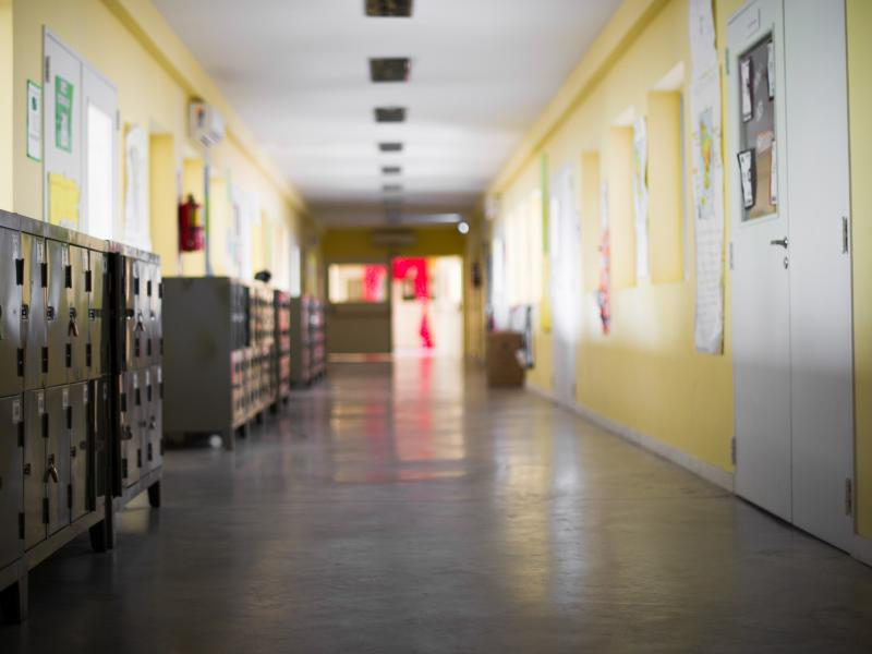 Empty school corridors have become the new norm in some parts of the country during the pandemic.