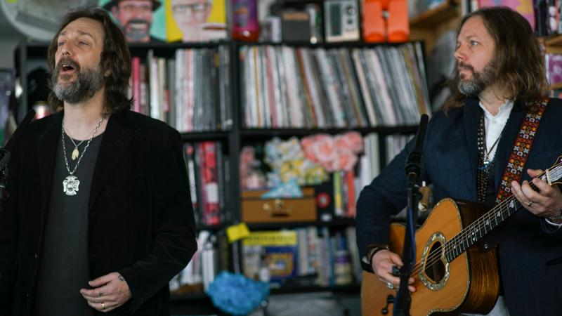The Black Crowes play a Tiny Desk concert.