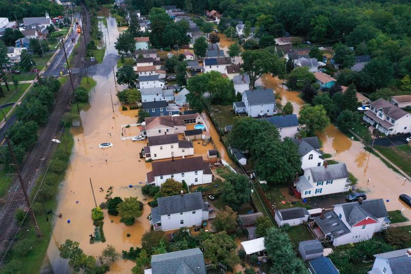 Homes that were sold by the Department of Housing and Urban Development between January 2017 and August 2020 are in federally designated flood zones at almost 75 times the rate of all homes sold nationwide in that period. New Jersey is one hot spot. Here,