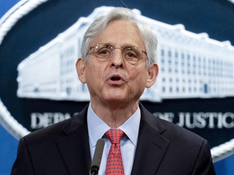 Attorney General Merrick Garland announced the Justice Department suit over Texas' abortion law last week. Now the department is asking a federal judge to temporarily block enforcement of the law while its lawsuit proceeds.