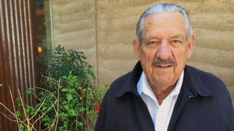 Fred Harris, pictured in 2016, is the last surviving member of the Kerner commission. Their report openly discussed racism in the U.S. in a way that sent shockwaves through the country.
