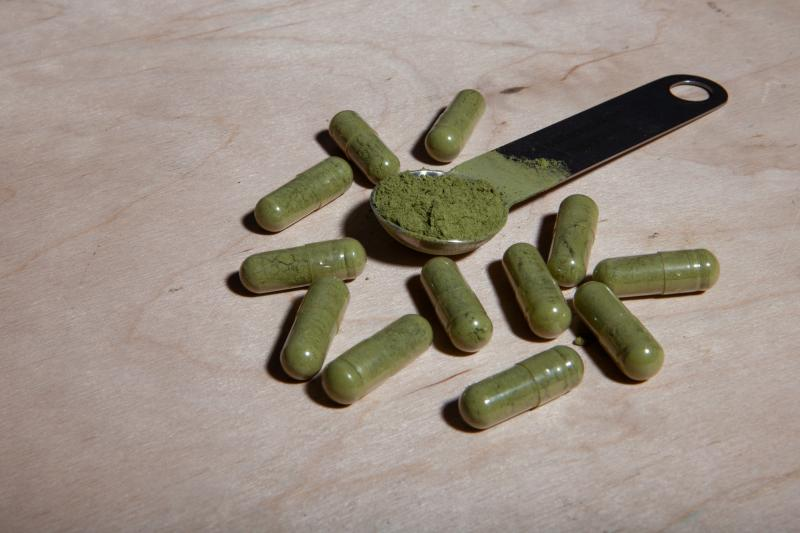 Kratom products are legal in most states and are widely available. But the federal Food and Drug Administration and the Drug Enforcement Administration worry that kratom carries the risk of physical and psychological dependency and, in some people, addict