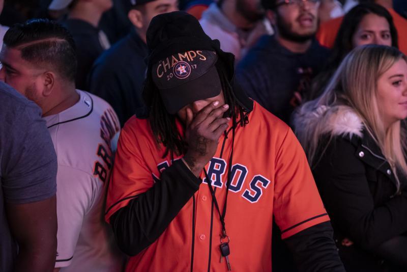 Houston Astros Fans React To Pivotal Game Seven Of World Series