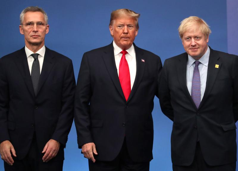 NATO Leaders Summit Takes Place In The UK - Day Two