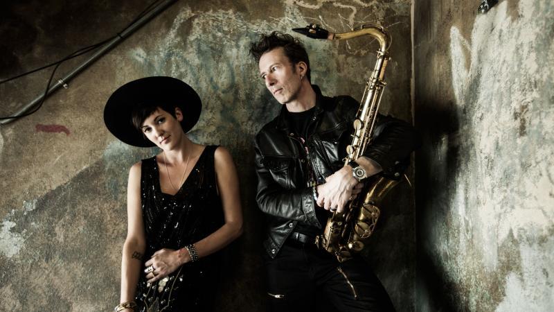 Twin Danger's Vanessa Bley and Stuart Matthewman