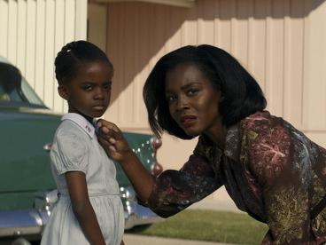 Gracie Emory (Melody Hurd) and Lucky Emory (Deborah Ayorinde) confront their traumas in Them.